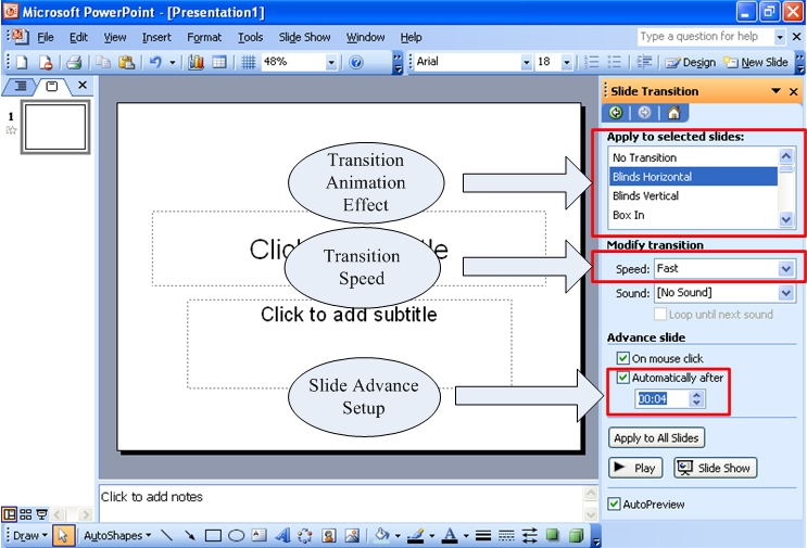 how to build a powerpoint sho