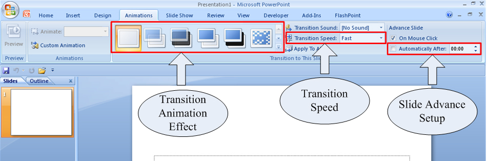 How to Set Up a PowerPoint 2007 Slide Show