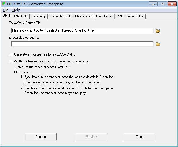 key to pptx file converter